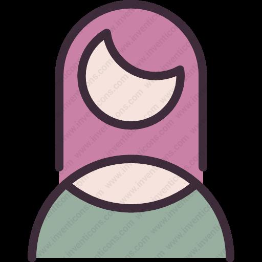 Download User,woman,girl,portrait,profiler Icon Inventicons