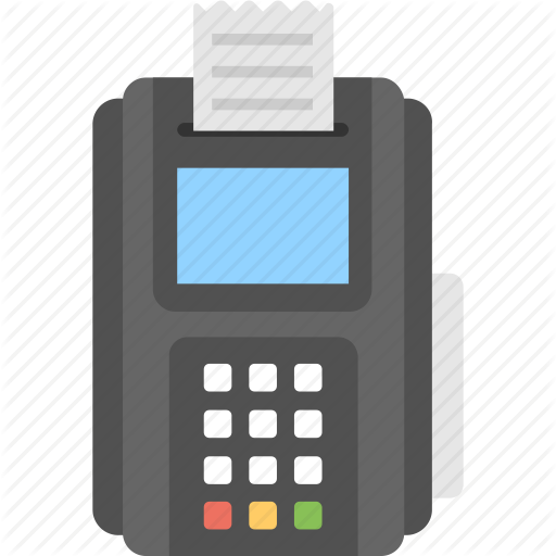 Payment Terminal, Point Of Sale, Pos, Pos Machine, Pos Terminal Icon