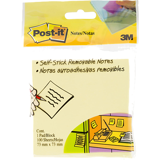 Post It Notes Yellow