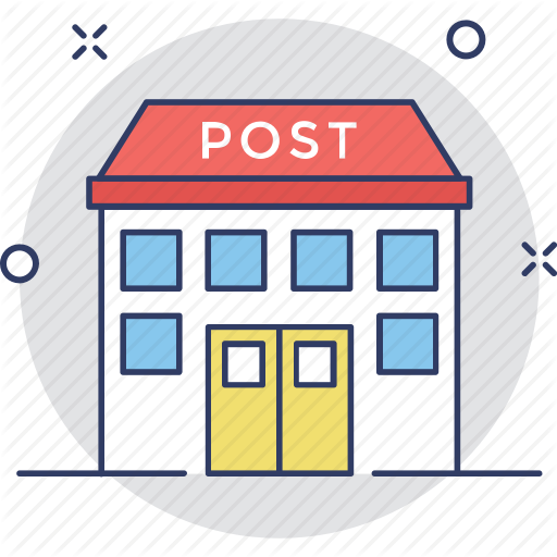 Building, Letter, Office, Post, Post Office Icon