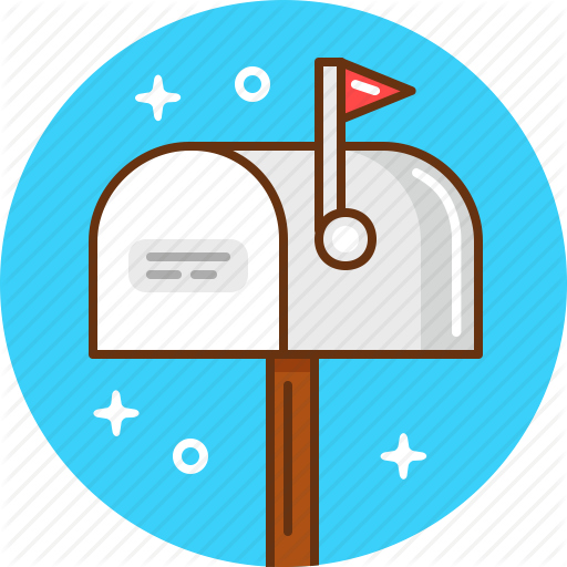 Mail, Mailbox, Post, Post Office Icon