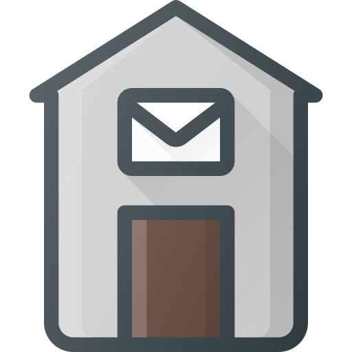 Place, Architecture, Building, Landmark, Post, Office Icon Free