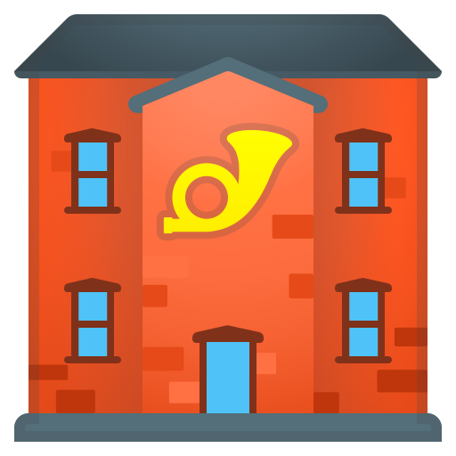 Post, Office Icon Free Of Noto Emoji Travel Places Icons