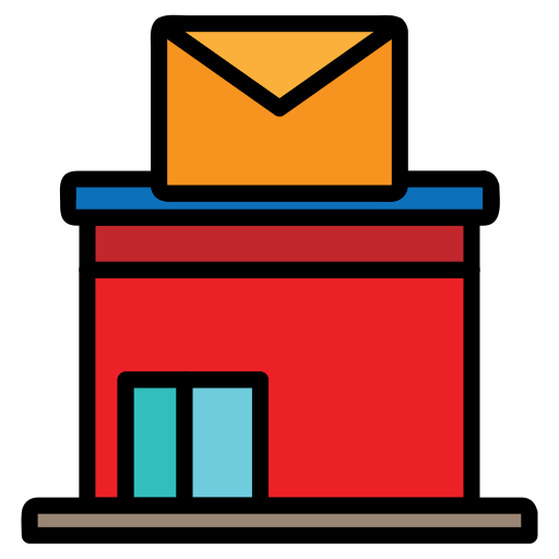 Building, Email, Envelope, Letter, Mail, Post, Office Icon Free