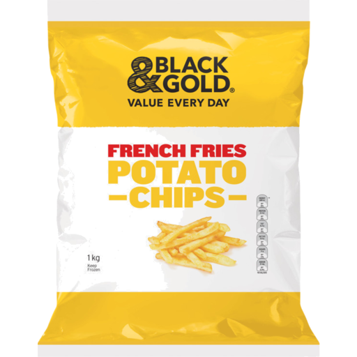 Black Gold Potato Chips French Fries