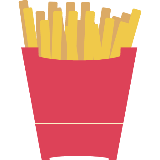 Fries Chips Icon