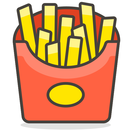 Fries, Potatoes, Chips, Food Icon Free Of Another Emoji Icon Set