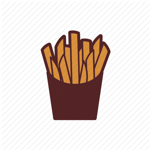 Box, Chips, Fast Food, French Fries, Fries, Meal, Potato Icon