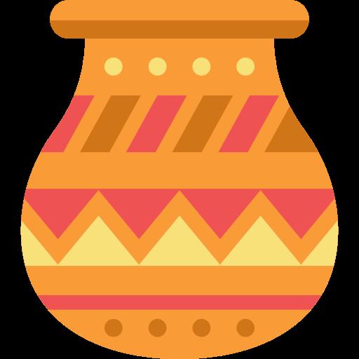 Art, Pot, Pottery, Native American Icon