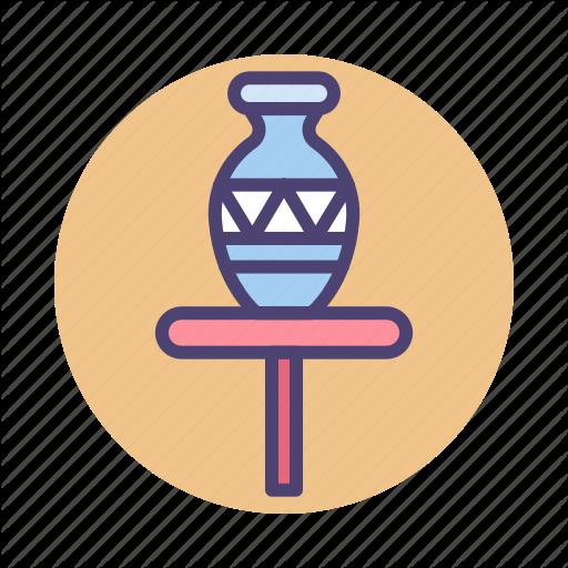 Porcelain, Pot, Pottery, Vase Icon