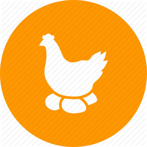 Agriculture, Chicken, Egg, Farm, Hen, Livestock, Poultry Icon