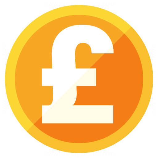 Iconexperience G Collection Currency Pound Icon
