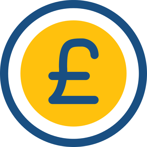 Pound Sterling Pound Png Icon