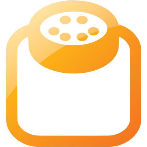Web Orange Powder Icon