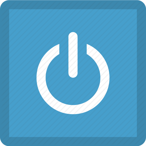Media Button, Media Control, Power, Power Button, Turn Off Icon