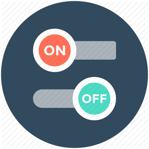 Off Button, On Button, On Off, Power Button, Switch, Toggle