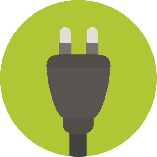Collection Of Plug Icons Free Download