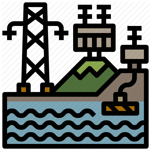 Electronics, Hydro, Power, Signs, Water Icon