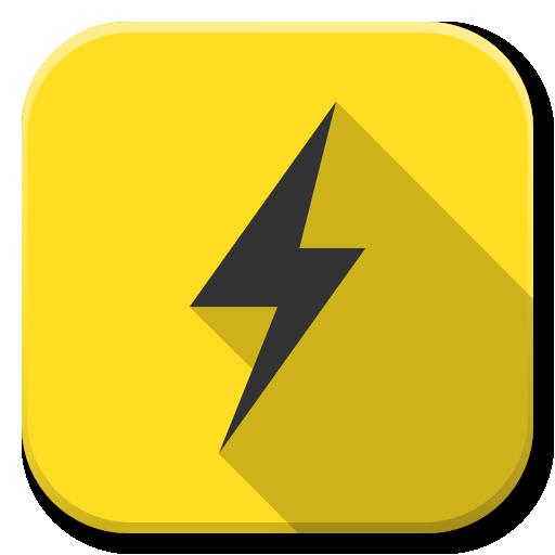 Apps Power B Icon Flatwoken Iconset Alecive