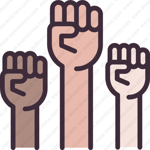 Download Protest,fist,gesture,power Icon Inventicons