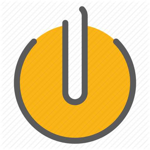 Power Off, Power On, Switch Off, Switch On Icon