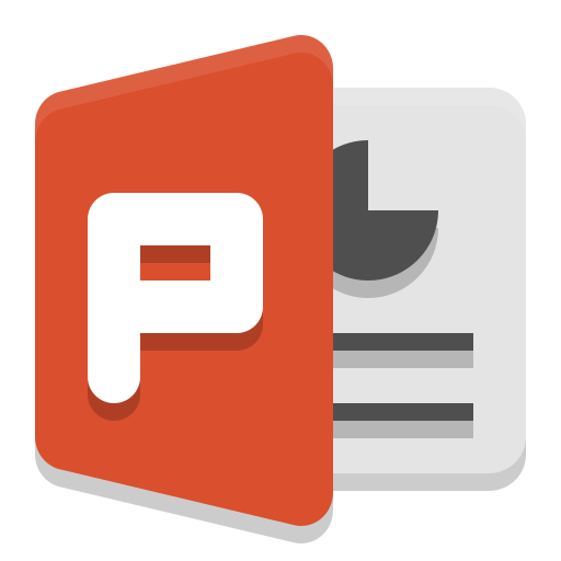 Ms, Powerpoint Icon Free Of Papirus Apps