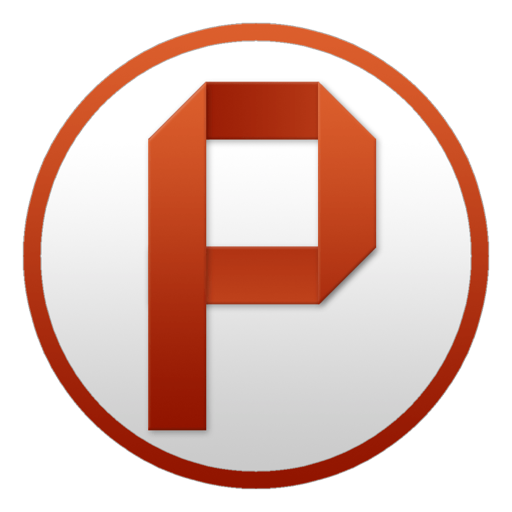 Powerpoint Circle Icon Microsoft Office Yosemite Iconset