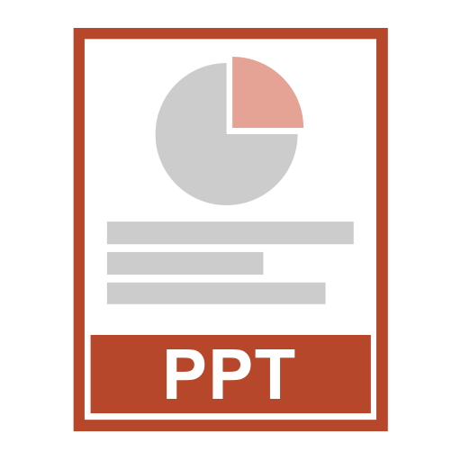 Powerpoint, Fill, Flat Icon With Png And Vector Format For Free
