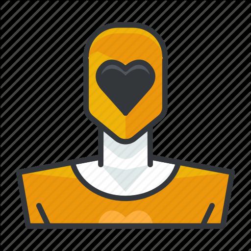 Avatar, Power, Profile, Ranger, User, Yellow Icon