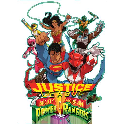 Justice League Power Rangers Folder Icon