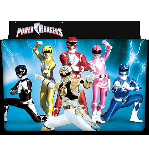 Power Rangers Tv Series Folder Icon