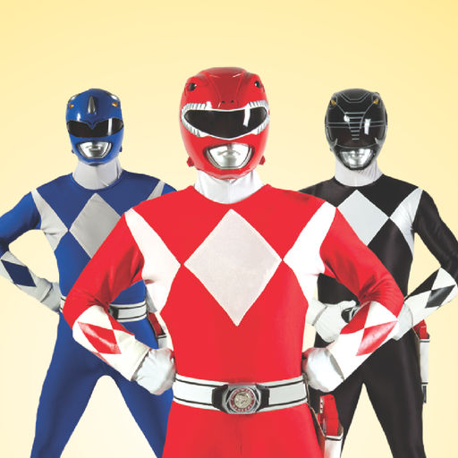 Power Rangers Mighty Morphin Stickers
