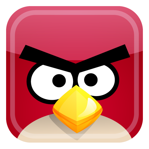 Red Bird Icon Angry Birds Iconset Fast Icon Design