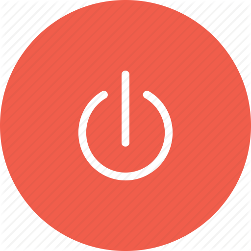 Button, Circle, Off, Power, Start, Switch Icon