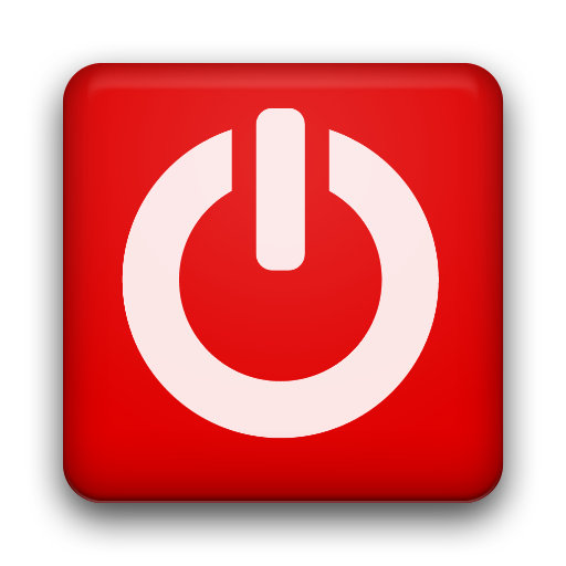 Red Power Button Transparent Png Clipart Free Download