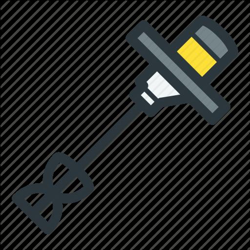 Construction, Electric, Mixer, Power Tool Icon