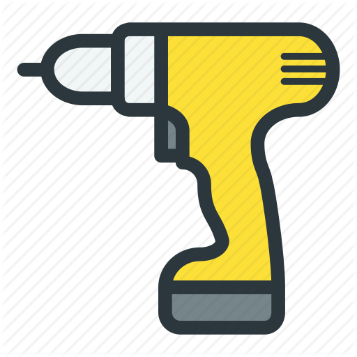 Cordless, Power, Screwdriver, Tools Icon