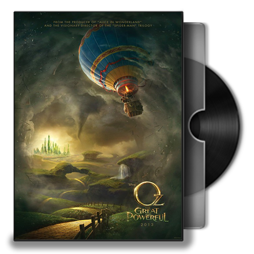 Oz The Great And Powerful Dvd Cover Icon