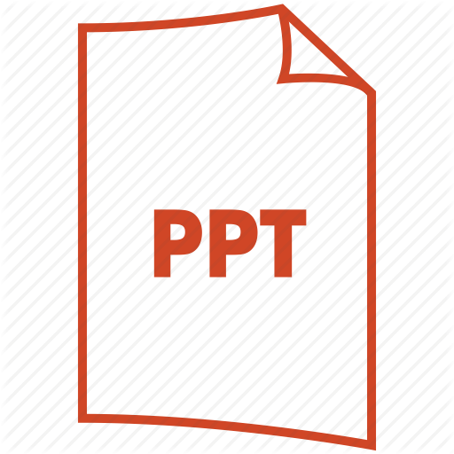 Extension, Format, Powerpoint, Ppt Icon