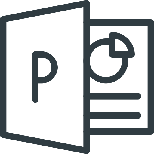 Powerpoint, Icon
