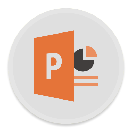 Powerpoint Icon Free Of Button Ui Ms Office Icons