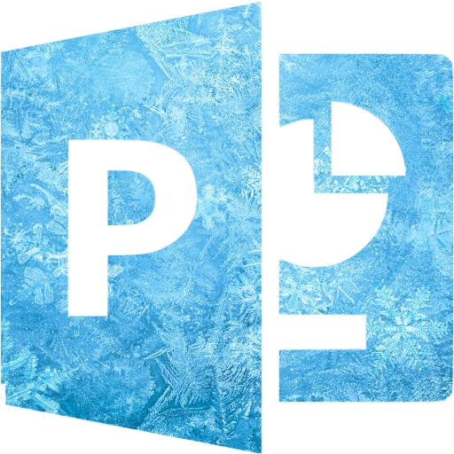 Ice Microsoft Powerpoint Icon