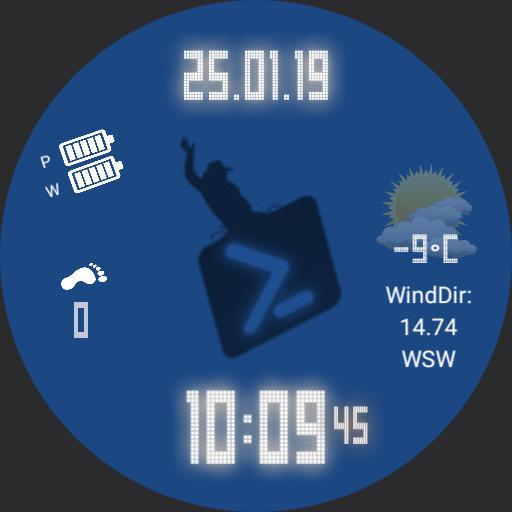 Ludawatch Powershell Cowboy Edition For Huawei Watch