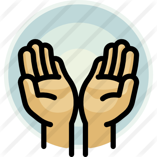 Praying Hands Icon Facebook
