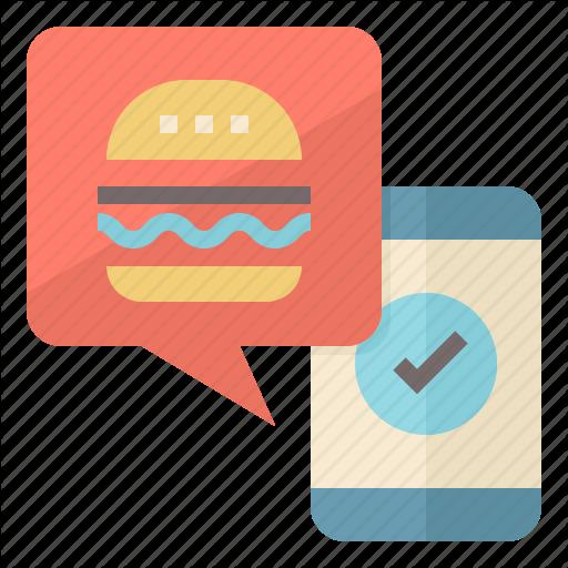 App, Food, Mobile, Order, Pickup, Pre, Restaurant Icon