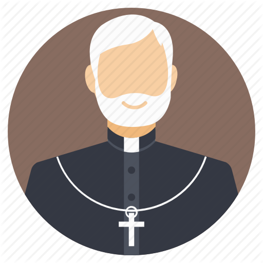 Bishop, Old Priest, Preacher, Religious Figure, Religious Scholar Icon
