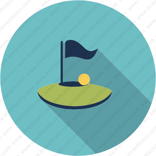 Download Ball,flag,golf,play,sport,game Icon Inventicons