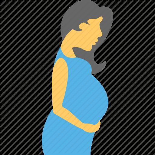 Mother Love, Mothercare, Motherhood, Pregnancy, Pregnant Women Icon