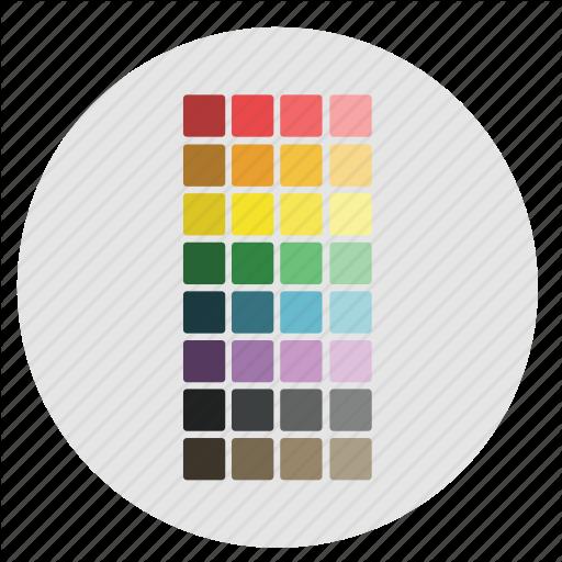 Artboard, Colors, Design, Graphic, Pallet, Preset, Swatch, Tools Icon