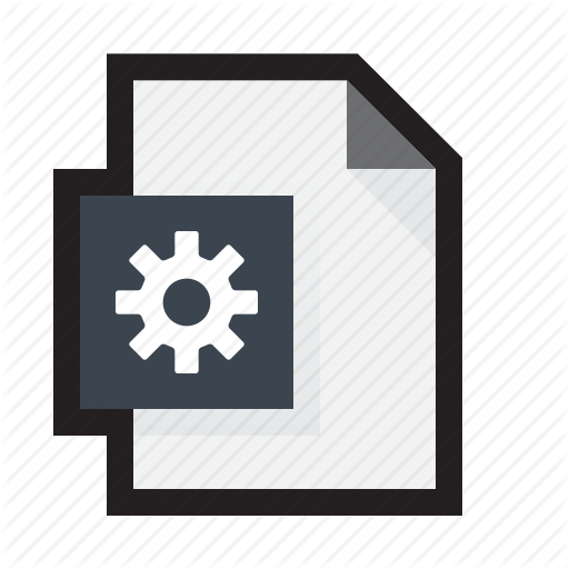 Cog, Configuration, Exe, Preset, Program, Settings Icon